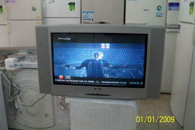 2el tüplü televizyon